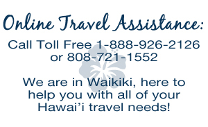 Online Travel Assistance - Call Toll Free 1-888-926-2126